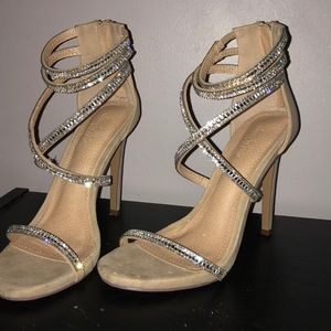 Charlotte Russe homecoming/prom sparkle heels